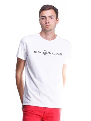Футболка белая с надписью | 1727518