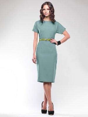 Платье оливкового цвета | 1737612