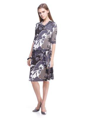 Сукня абстрактного забарвлення | 1737645