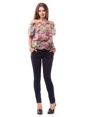 Блуза цветочной расцветки | 1699318