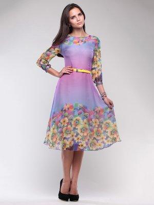 Сукня в квітковий принт   1754218