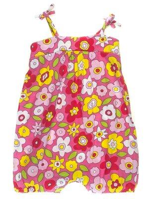 Пісочник рожевий в квітковий принт | 1788525