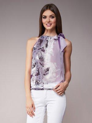 Блуза сиреневая | 1792957