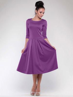 Платье фиалкового цвета | 1801201