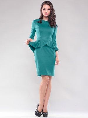 Сукня темно-смарагдового кольору   1801256