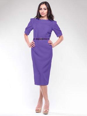 Сукня фіалкового кольору | 1806430
