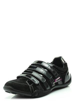 Туфли черные спортивные | 34847