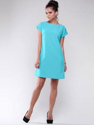 Сукня світло-ментолового кольору | 1822322
