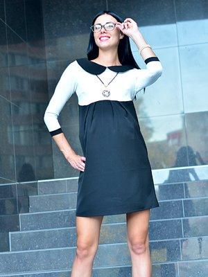 Платье черно-белое | 1823027