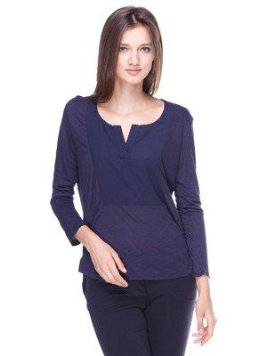 Блуза синяя | 1467187