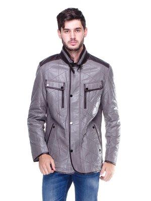 Куртка сіро-коричнева | 1830345