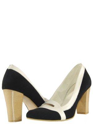 Туфли черно-молочного цвета | 737523