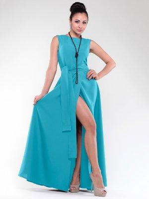 Платье бирюзовое | 1838227