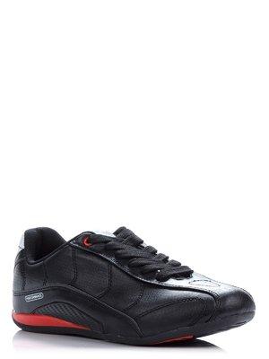 Кроссовки черные с перфорацией | 38612
