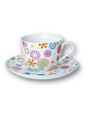 Чашка (230 мл) з блюдцем   1849479