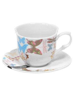 Чашка (200 мл) з блюдцем | 1849427