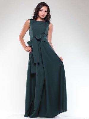 Платье темно-изумрудного цвета | 1850684