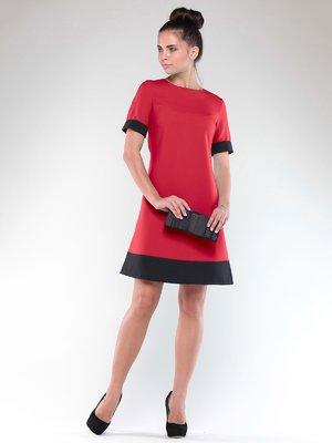 Платье красно-черное | 1850753