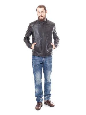Куртка темно-коричнева | 1853260
