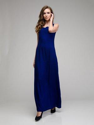 Платье синее в горох | 1855386