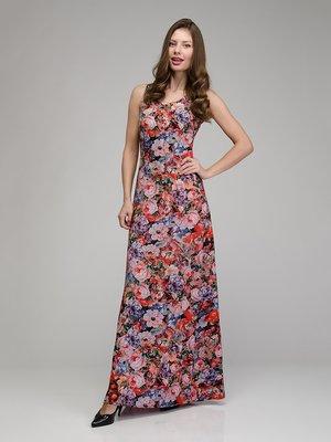 Платье цветочной расцветки | 1855387