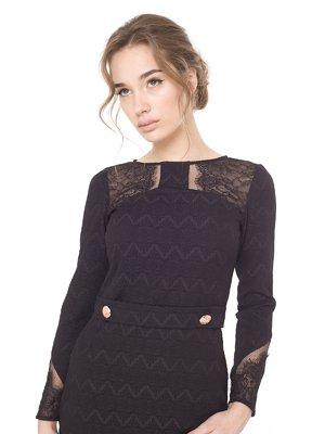 Платье черное | 1857320