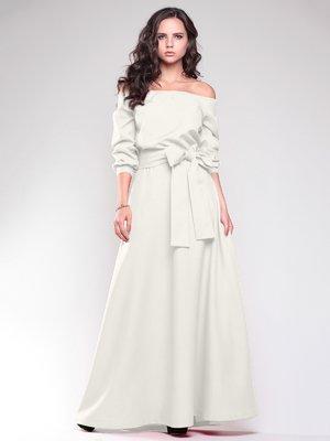 Платье молочного цвета   1861219