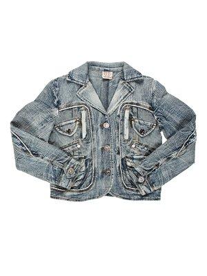 Куртка синяя джинсовая | 1428471