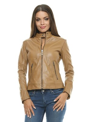 Куртка кольору коньяку | 1315351