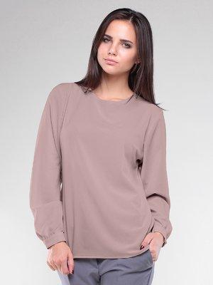 Блуза цвета мокко | 1887506