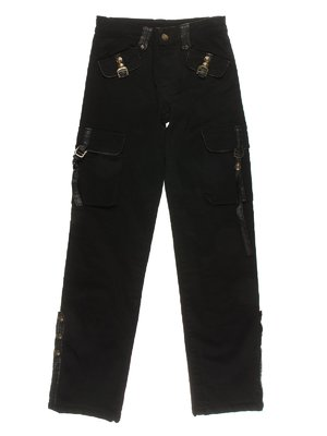 Штани чорні теплі | 1878876