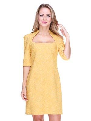 Сукня гірчичного кольору | 1888258