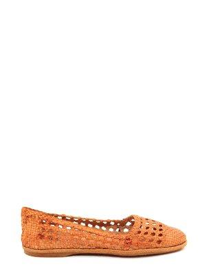 Балетки помаранчеві | 1892705