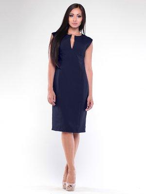 Платье темно-синее | 1896928