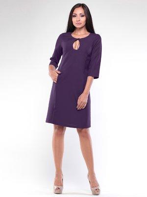 Платье темно-фиолетовое | 1896970