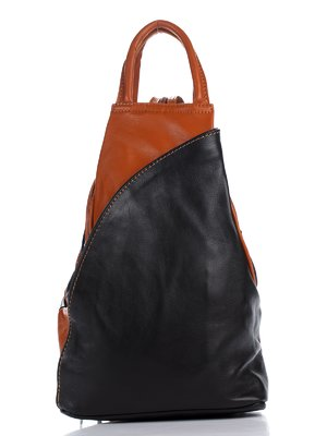 Рюкзак чорно-рудого кольору | 1886860