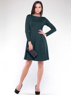 Сукня темно-смарагдового кольору | 1908631
