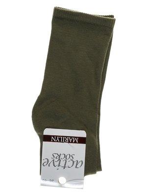 Носки оливкового цвета   1913294