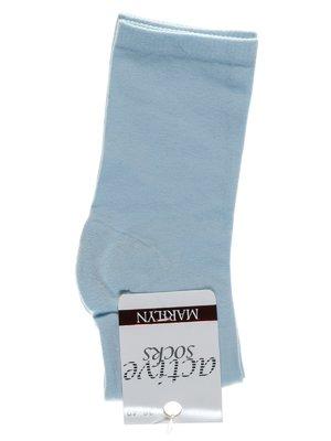 Носки светло-голубые | 1913293