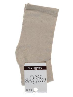 Носки светло-бежевые   1913292