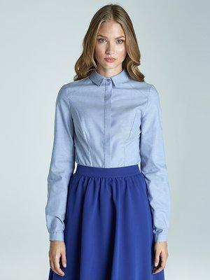 Блуза блакитна | 1916373