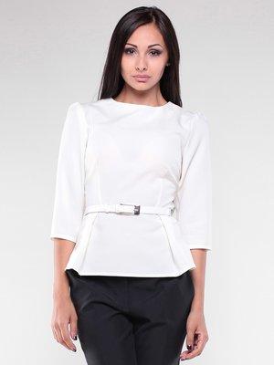 Блуза молочного цвета | 1927080