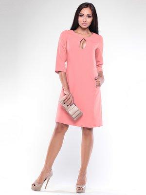 Платье темно-персикового цвета | 1927169