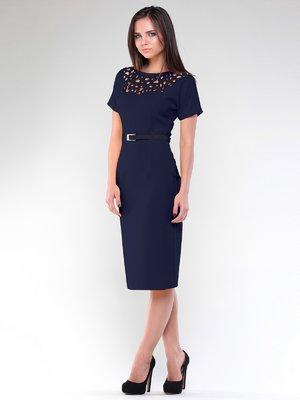 Платье темно-синее | 1927899