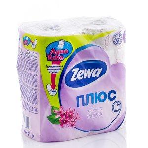 Туалетная бумага двухслойная с ароматом сирени (4 рулона) | 1924710