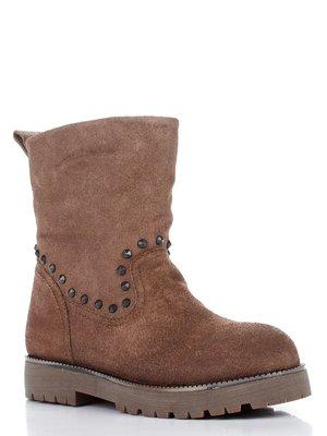Ботинки бежевые | 1930754