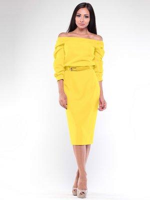 Платье желтое | 1935693