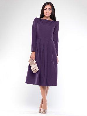 Платье темно-фиолетовое   1935721