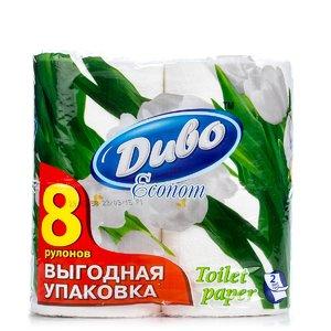 Бумага туалетная «Эконом» 2-х слойная (8 рулонов) | 1935145