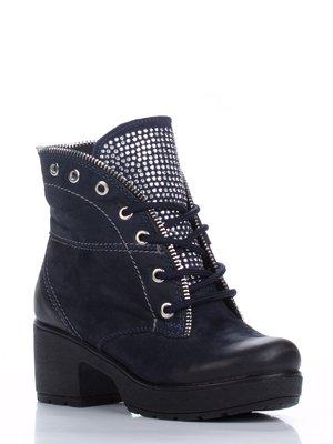 Ботинки синие | 1938632
